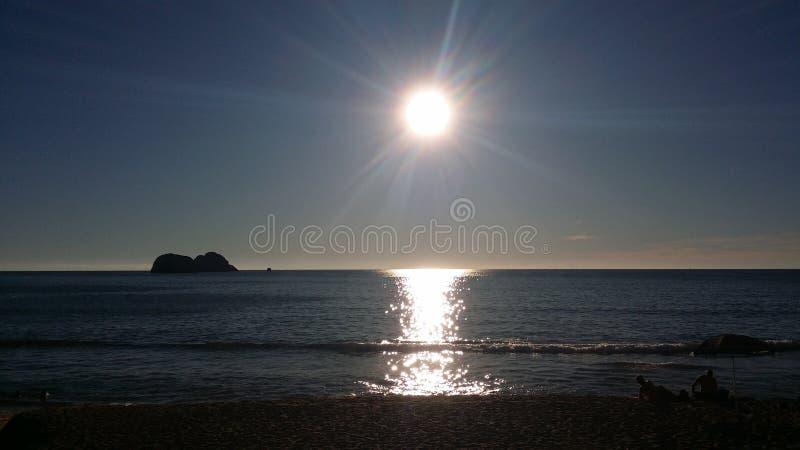 Mar lustroso do cortez, Mazatlan fotos de stock