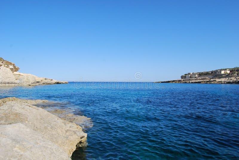 Mar maltés fotografía de archivo