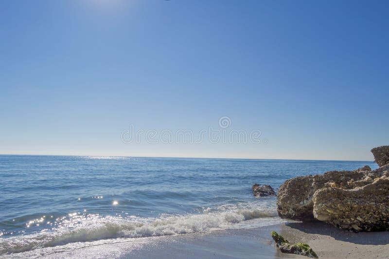 Mar Mediterráneo foto de archivo libre de regalías