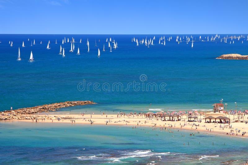 Mar Mediterráneo magnífico imagen de archivo