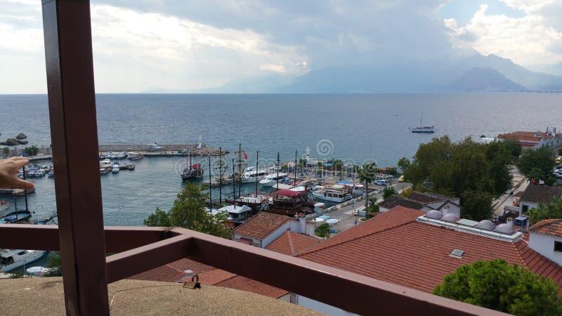 Mar Mediterrâneo de Antalya fotos de stock