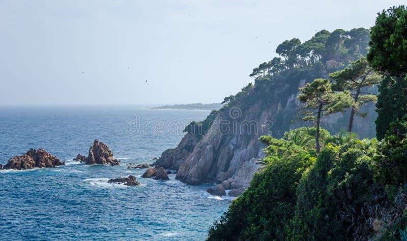Mar Mediterrâneo spain fotos de stock