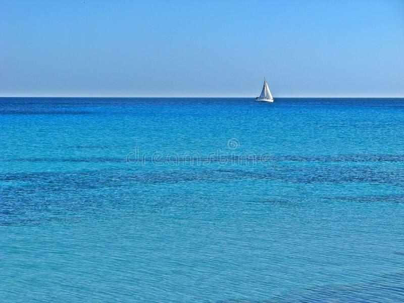 Mar Mediterr?neo imagem de stock