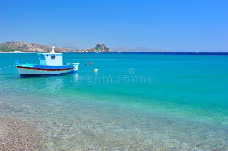 Mar Mediterraneo del turchese fotografia stock libera da diritti