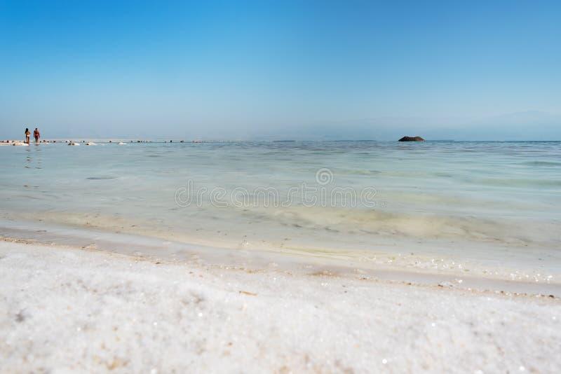 Mar Morto, Ein Bokek, Israel fotografia de stock royalty free