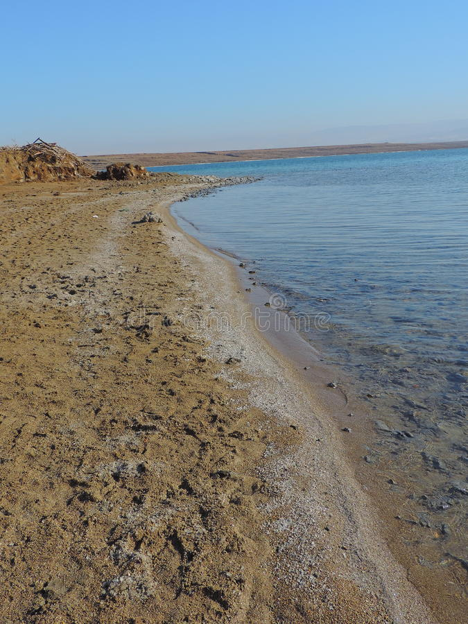 Mar Morto, Gerusalemme immagine stock