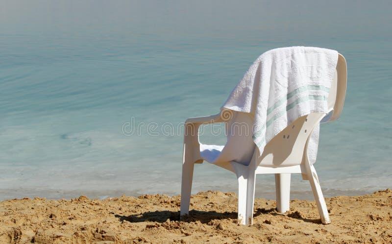 Mar Morto Israel Ein Bokek foto de stock royalty free