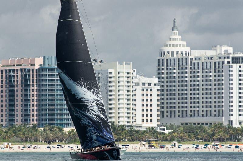 Mar Mostro off Miami Beach stock images
