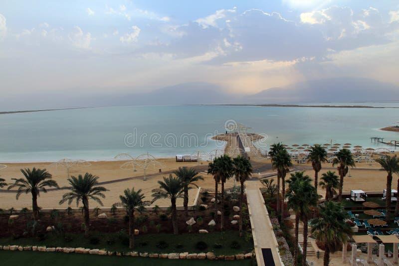 Mar muerto imagen de archivo libre de regalías