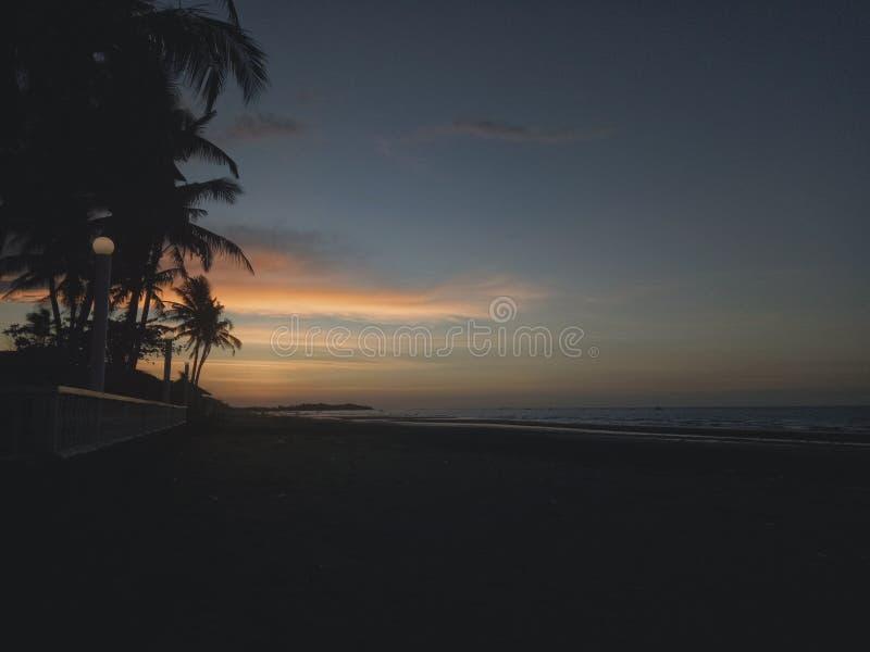 Mar, naturaleza, puesta del sol, belleza fotografía de archivo