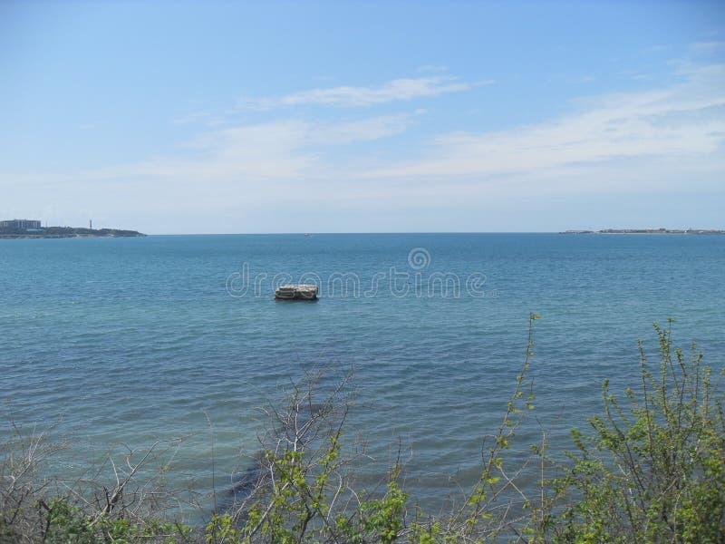 Mar Nero vicino a Gelendzhik Russia fotografia stock