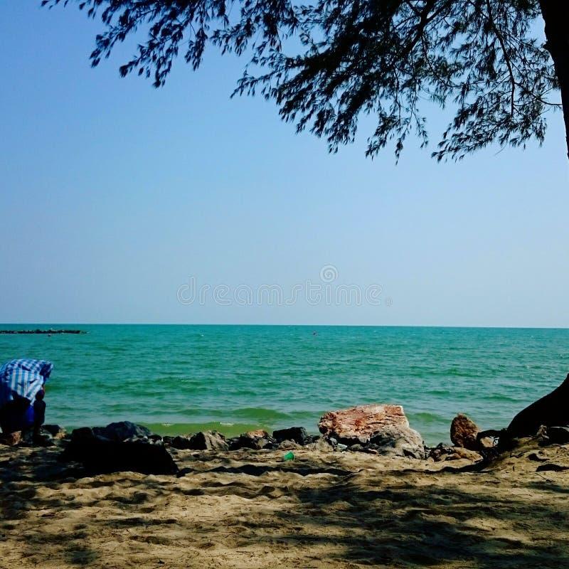 Mar no verão foto de stock