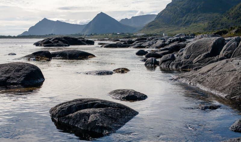 Mar norueguês imagem de stock