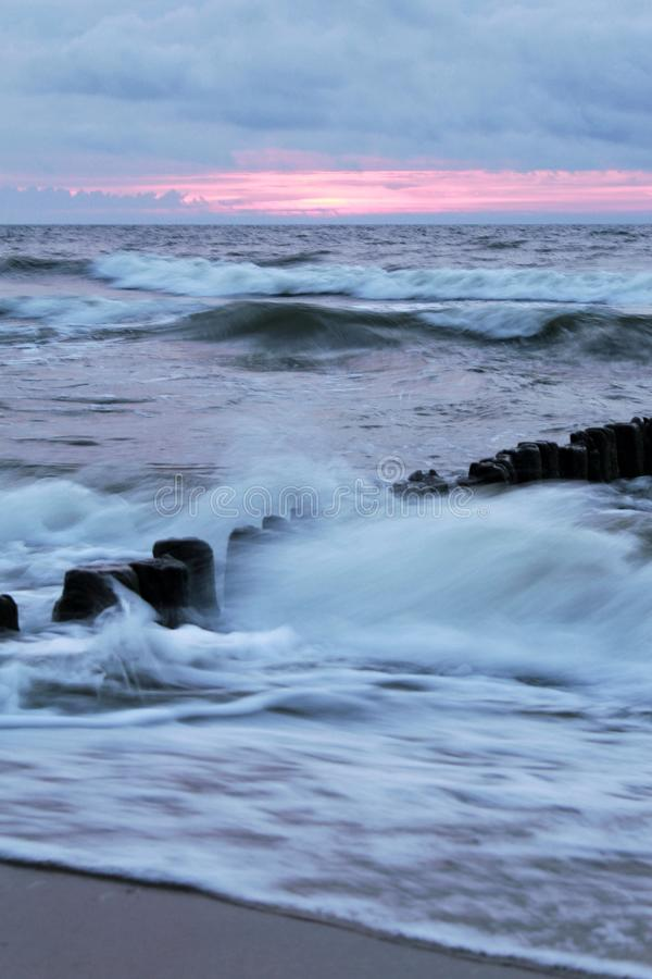 Mar polaco fotografía de archivo