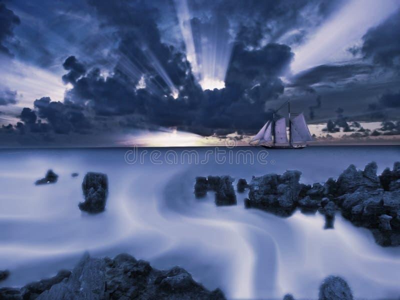 Mar Scape fotos de archivo libres de regalías