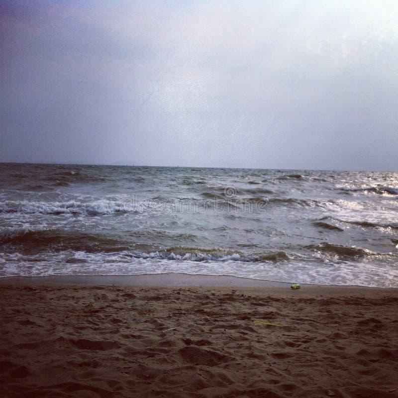 Mar solo fotografía de archivo