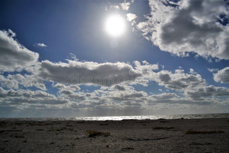 Mar, Sun, playa - vida en la Florida imagen de archivo