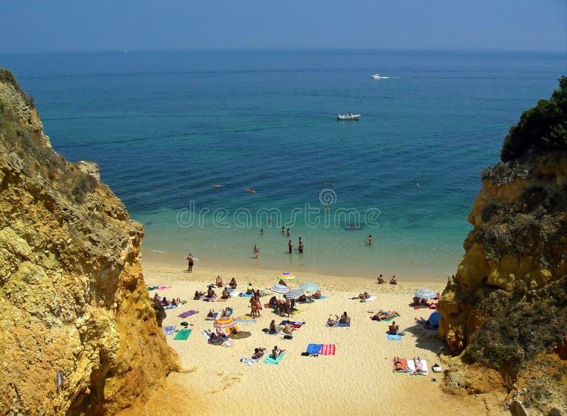 Mar, sunbath, areia foto de stock royalty free
