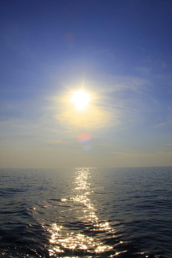 Mar tailandês foto de stock royalty free