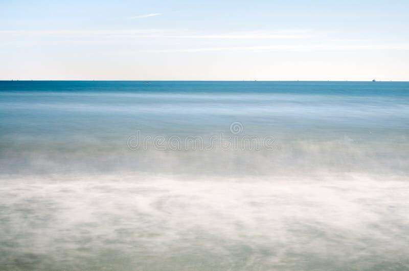 Mar tranquilo imagen de archivo