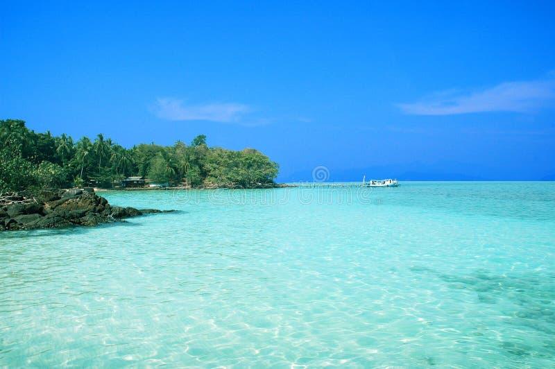 Mar tropical imagem de stock