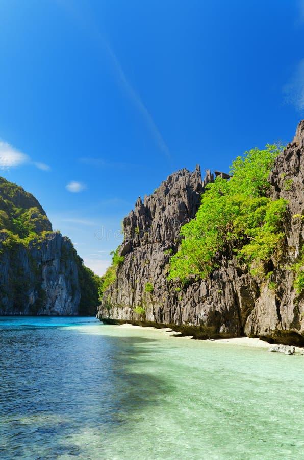 Mar tropical imagens de stock