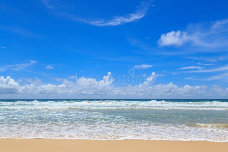 Mar tropical imagem de stock royalty free
