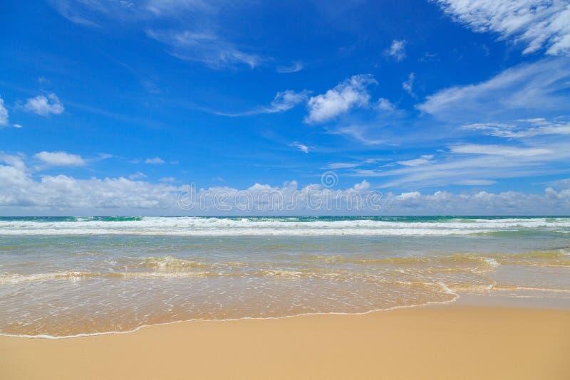 Mar tropical fotografia de stock royalty free