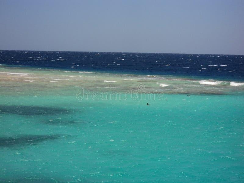 Mar verde/azul imagen de archivo libre de regalías