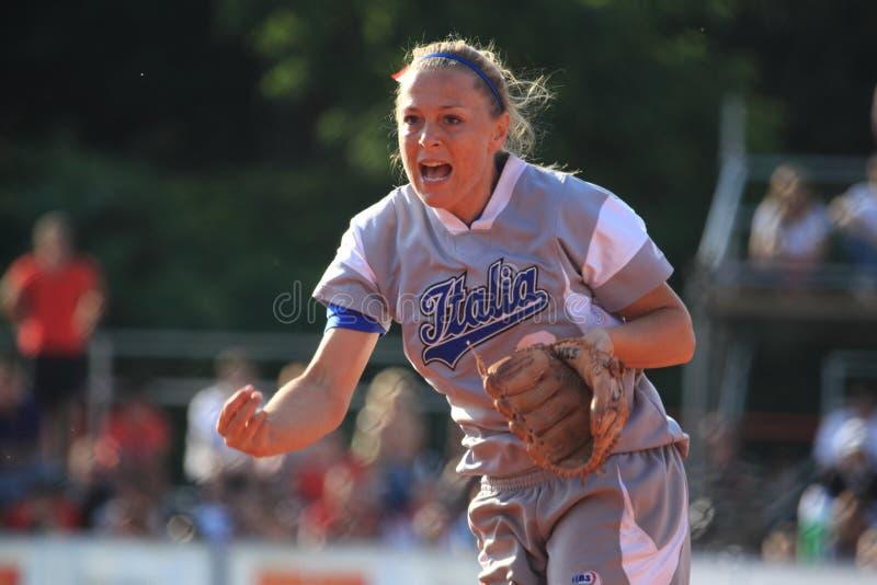 Mara Papucci - softball royalty free stock photos