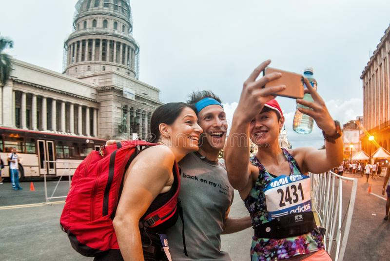Marabana, Havana Marathon photo libre de droits