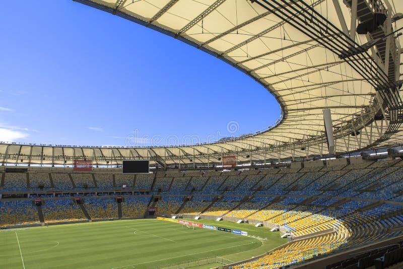 maracan stadionie obraz stock