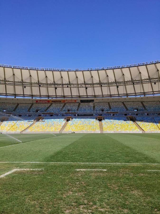 Maracana stadion, Rio de Janeiro, Brasilien arkivbild