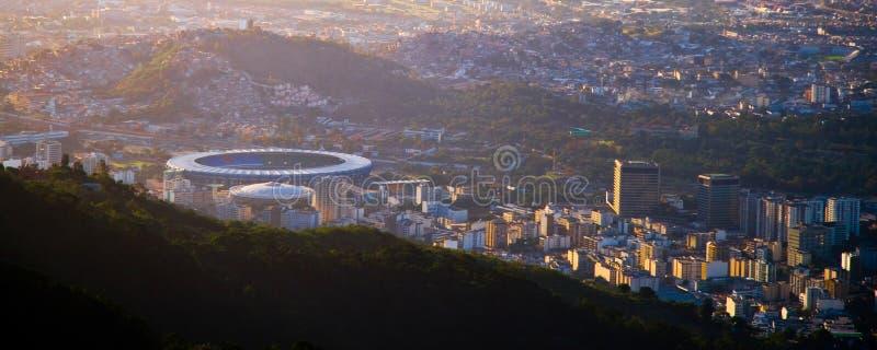 Maracana stadium w Rio De Janeiro zdjęcia stock