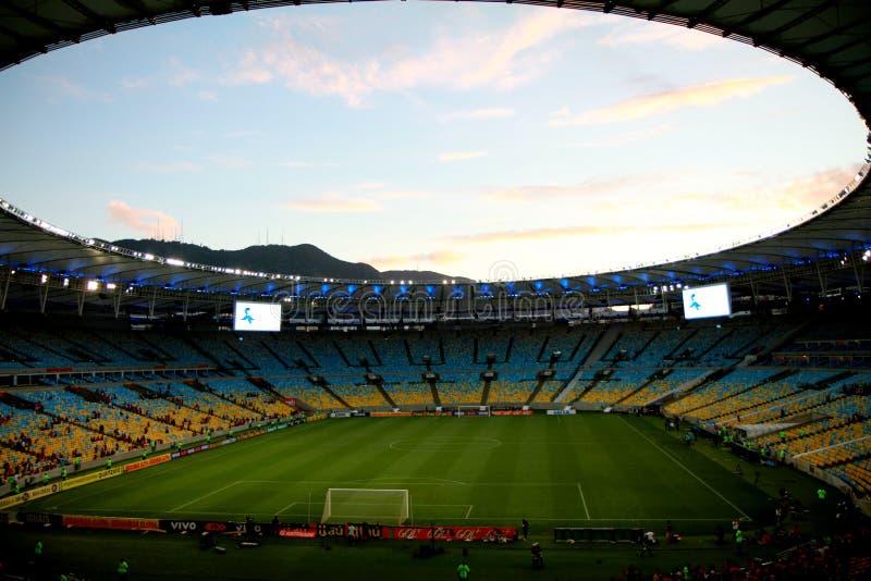 Maracana Stadium in Rio de Janeiro royalty free stock image