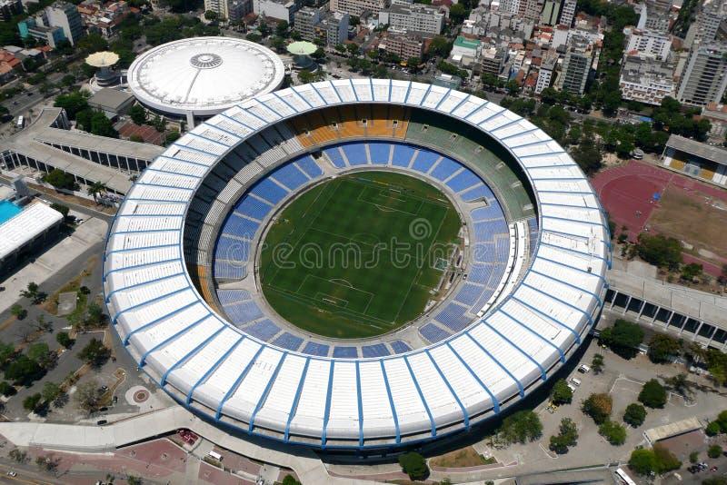 Maracana stadium (Rio Janeiro) royalty free stock image