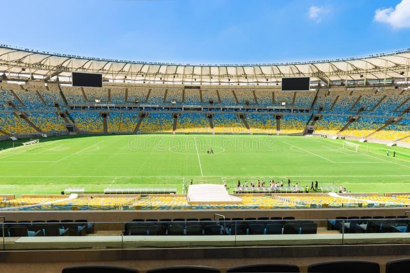 Maracana stadium w Rio De Janeiro obrazy royalty free