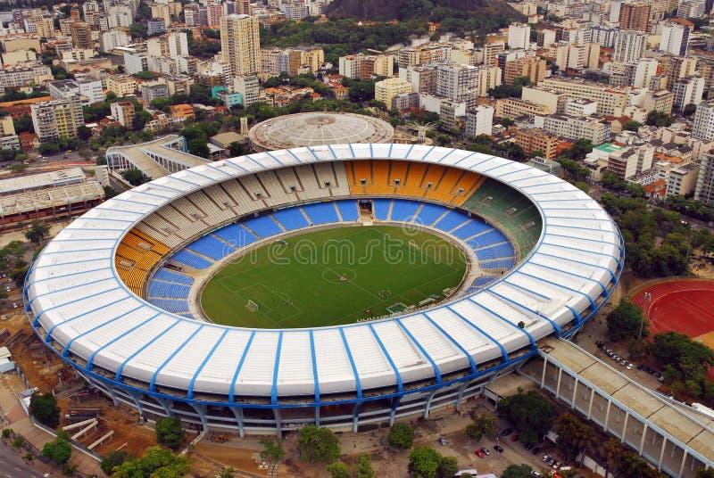 maracanastadion arkivbild