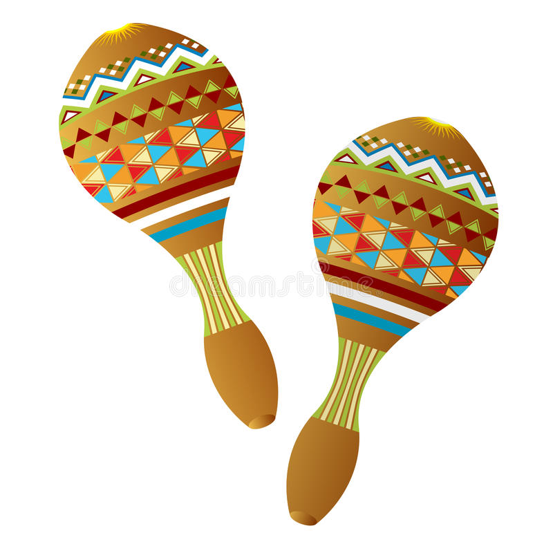 Maracas illustration de vecteur