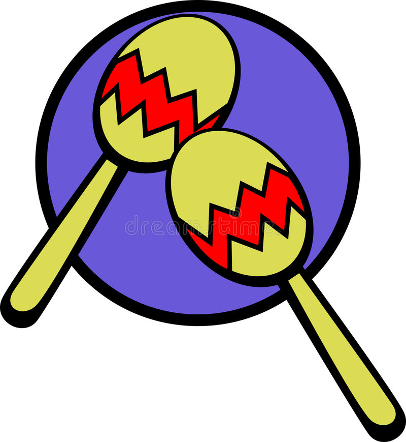 Download Maracas Musical Instruments Vector Illustration Stock Vector - Image: 3075409