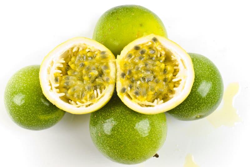 Maracuja - fruta de paixão foto de stock royalty free