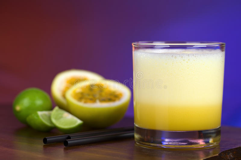 Maracuya Sour stock images