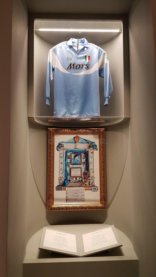 Maradona świątynia fotografia royalty free