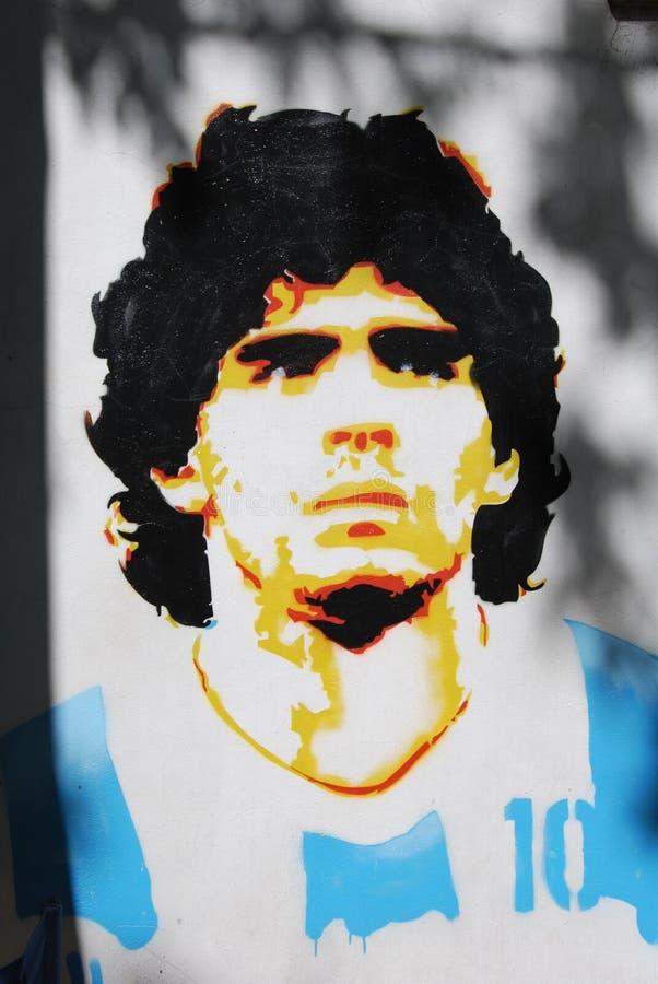 Maradona arkivfoton