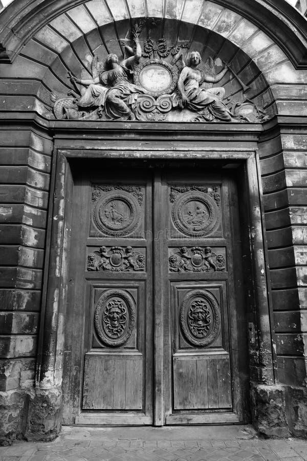 Marais drzwi obraz royalty free
