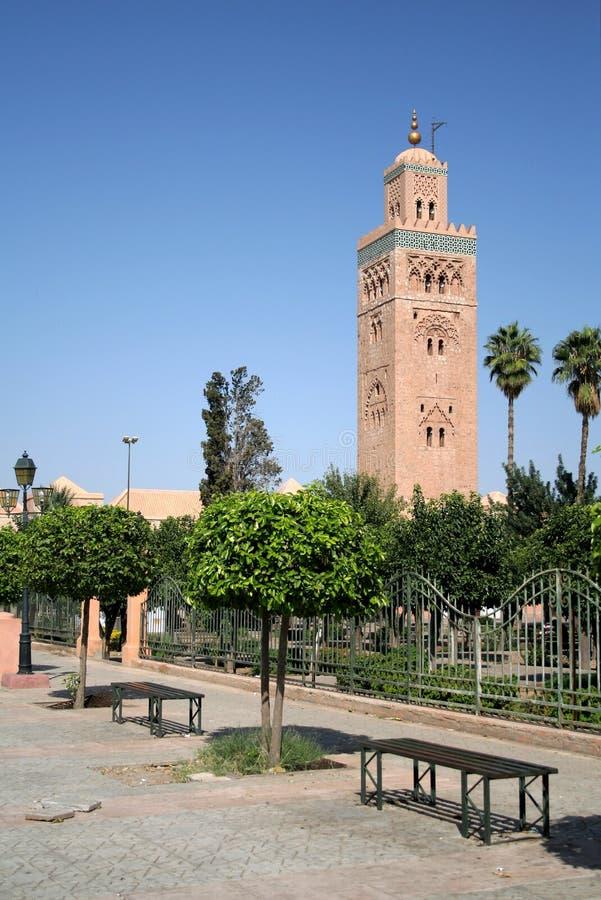 Marakesz 1 meczetu fotografia stock