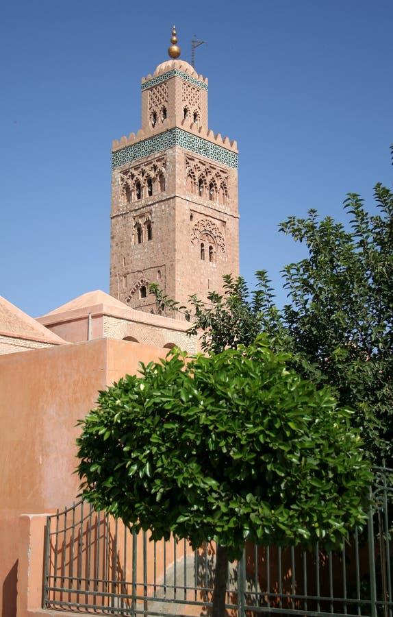 Marakesz 2 meczetu zdjęcie stock