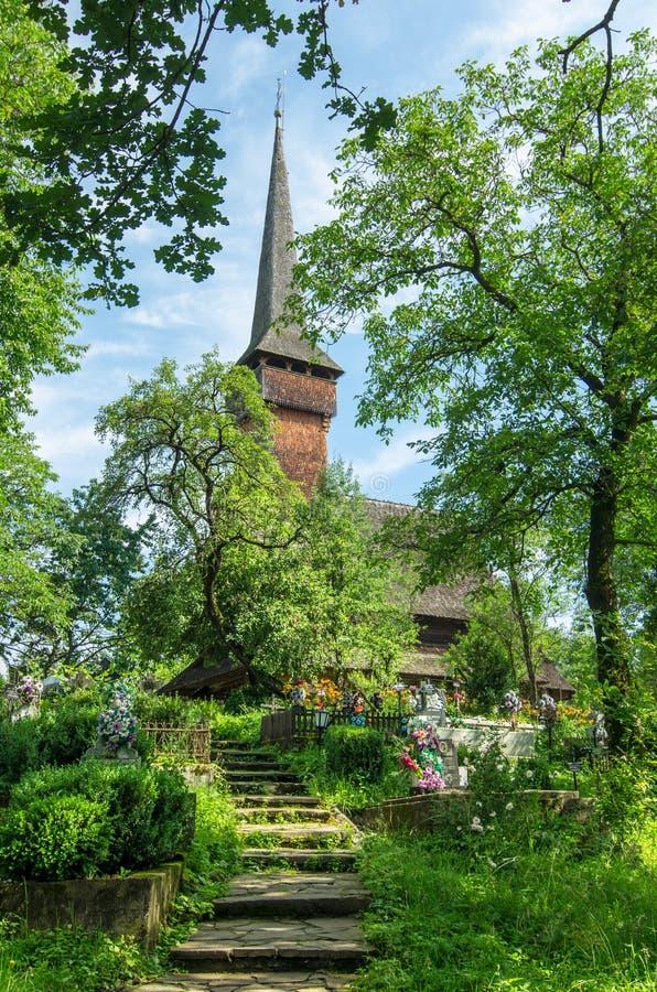 Maramures, landmark - wooden church royalty free stock photos