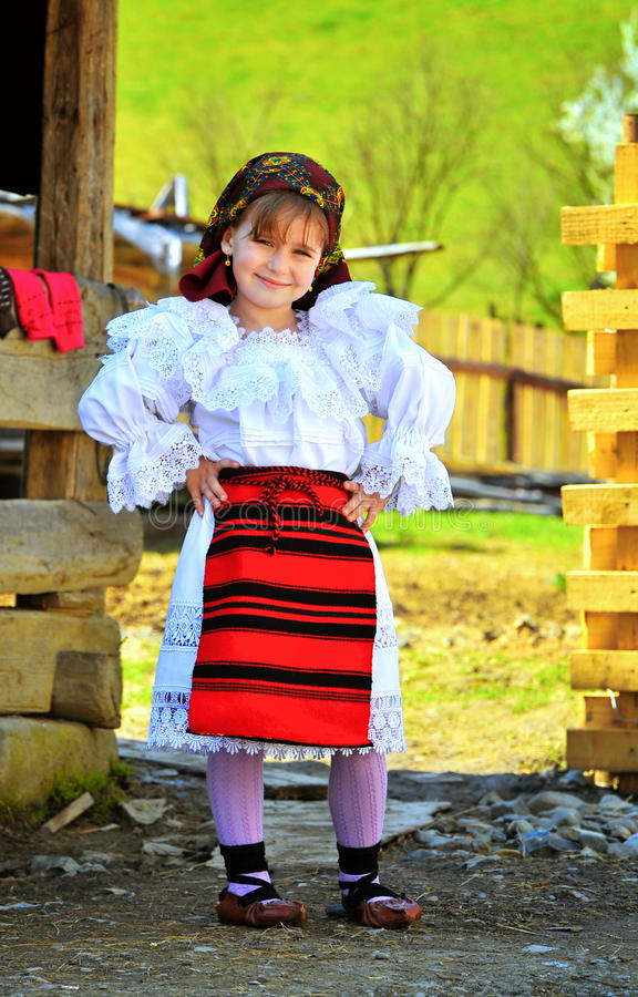Download Maramures Romanian Traditional Girl Editorial Image - Image: 27924055