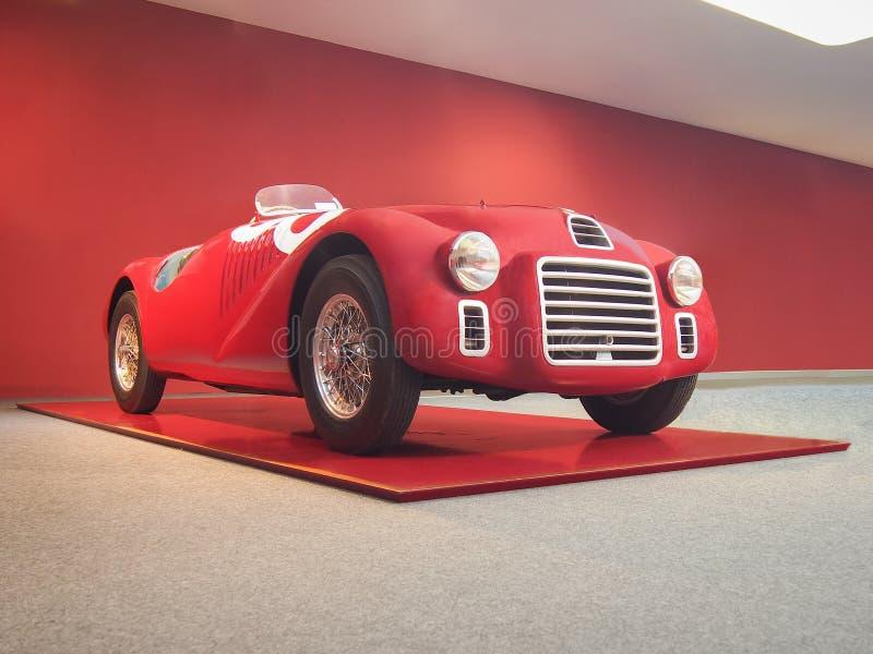 1947 Ferrari 125 S. MARANELLO, ITALY-JULY 21, 2017: 1947 Ferrari 125 S in the Ferrari Museum stock photo